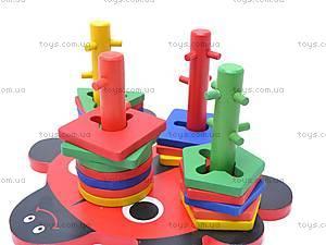 Игровой набор «Геометрик», из дерева, W02-2653 (W02, купить