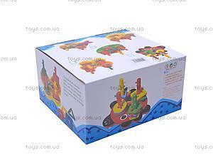 Игровой набор «Геометрик», из дерева, W02-2653 (W02, цена