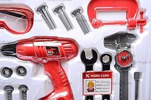 Игровой набор инструментов строителя, 661-312, toys