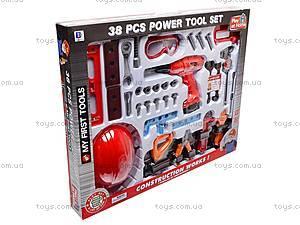 Игровой набор инструментов строителя, 661-312