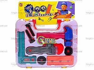 Игровой набор «Инструменты в чемодане», 5523, купить