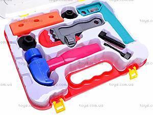 Игровой набор «Инструменты в чемодане», 5523, игрушки
