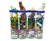 Игровой набор «Животные», в колбе, HOH23667A-F, купить