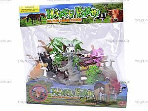 Игровой набор животных, 89696C-3, игрушки
