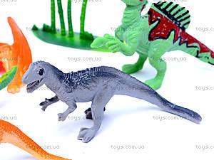 Игровой набор животных «Динозавры», 900-11A, детские игрушки