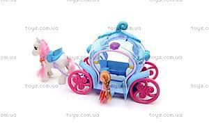 Игровой набор «Карета с пони», 8318, фото