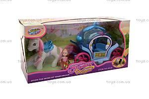 Игровой набор «Карета с пони», 8318, цена