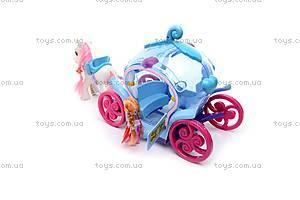 Игровой набор «Карета с пони», 8318, игрушки