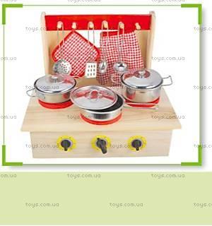 Игровой набор «Кухня», дерево и металл, S059