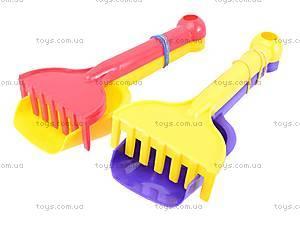 Игровой набор «Лопатка и грабли», , toys.com.ua