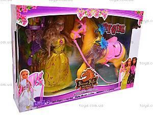 Игровой набор «Лошадка и куколка», 88002, цена
