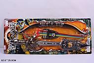 Игровой набор «Меч и лук», 6123-7, фото