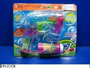 Игровой набор «Мыльные пузыри и пистолет», 03887В