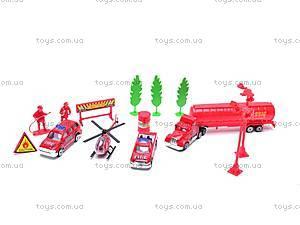 Игровой набор «Пожарная служба», 89207