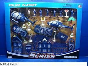 Игровой набор «Полицейский участок», 166-057
