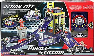 Игровой набор «Полицейский участок» с машиной, 28113
