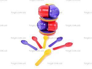 Игровой набор «Посуда», 18 предметов, Юника, toys