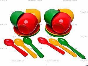 Игровой набор «Посуда», 18 предметов, Юника, фото