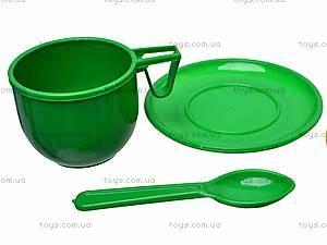 Игровой набор «Посуда», 18 предметов, Юника, отзывы
