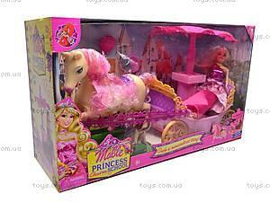 Игровой набор «Принцесса и карета», M8001, купить