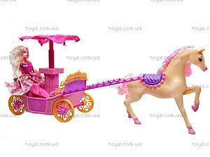 Игровой набор «Принцесса и карета», M8001, фото
