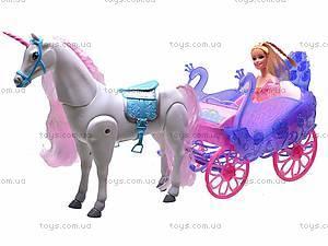 Игровой набор «Принцесса в карете», 38386