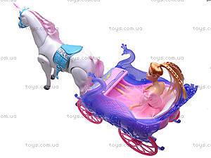 Игровой набор «Принцесса в карете», 38386, цена