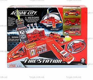 Игровой набор Realtoy «Пожарная станция», 28535