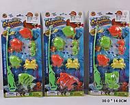 Игровой набор «Рыбалка», 6 животных, 886-78910