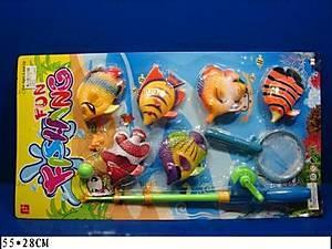Игровой набор «Рыбалка», 6 рыбок, FJ1003-7