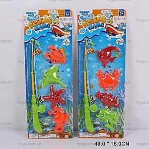 Игровой набор «Рыбалка», с магнитной удочкой, 338-2