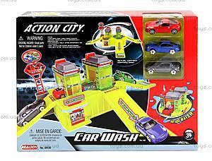 Игровой набор с 3 машинами «Автомобильная мойка», 28536