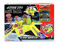 Игровой набор с 3 машинами «Автомобильная мойка», 28536, фото