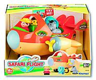 Игровой набор «Сафари» с самолетом, K12415, отзывы