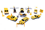 Игровой набор «Служебный транспорт», 927W15, фото
