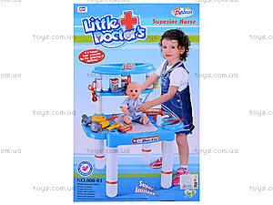 Игровой набор «Стол доктора», 008-03, купить