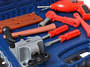 Игровой набор «Стол с инструментами», 008-22, детские игрушки