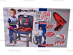 Игровой набор «Стол с инструментами», 008-22, магазин игрушек