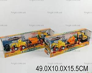Игровой набор «Строительная техника», 3215CD