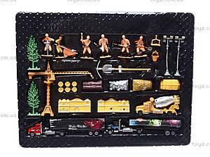 Игровой набор «Стройплощадка», 0710-15, игрушки