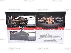 Игровой набор «Танки» для танковых боев, 529, детские игрушки
