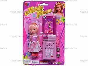 Игровой набор «Телефон и кукла», 8288C-1