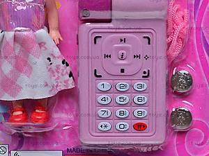 Игровой набор «Телефон и кукла», 8288C-1, фото