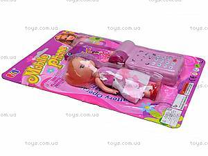 Игровой набор «Телефон и кукла», 8288C-1, цена