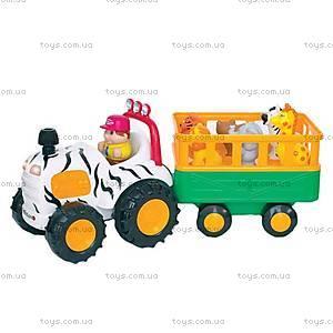Игровой набор «Трактор сафари», 051169