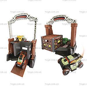 Игровой набор «Турбопереворот» со служебными машинами, 0534