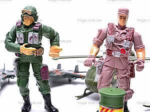 Игровой набор «Военные», 0121A, фото