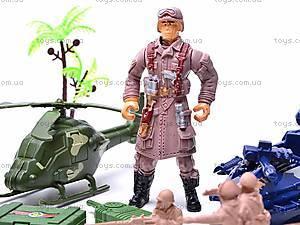 Игровой набор «Военные», 0121A, игрушки