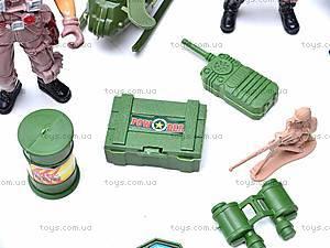 Игровой набор «Военные», 0121A, toys