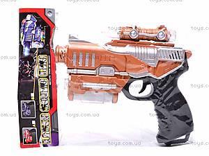 Игровой пистолет музыкальный, K688B, цена